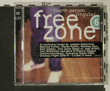 V.A.Free Zone 6: Fourth person Singular, FS-New, SSR(), EU, 1999 - 2CD - 92597 - 10,00 Euro