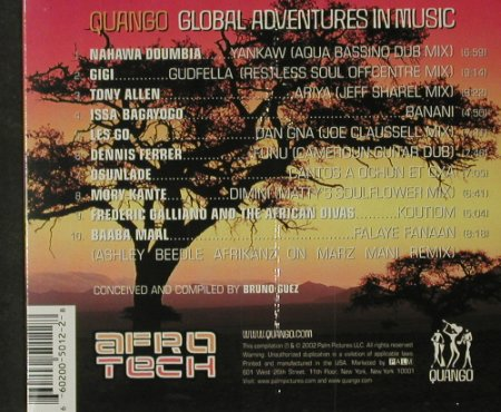 V.A.Afro Tech: A Global Journey Into Electr Africa, Quango(), US,FS-New, 2002 - CD - 92713 - 10,00 Euro