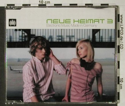 V.A.Neue Heimat: 3, Electronic Music, Ministry of Sound(), D,Promo, 2003 - 2CD - 92899 - 10,00 Euro