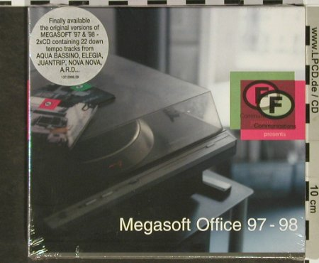 V.A.Megasoft Office 97-98: 20 Tr., Digi, FS-New, F Communications(F 099DCD), , 1997 - 2CD - 92946 - 11,50 Euro