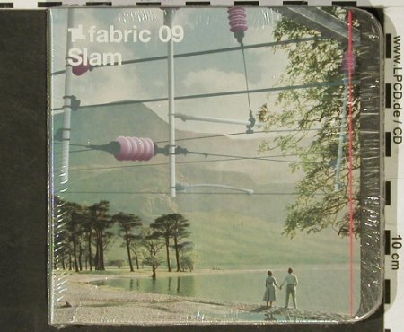 V.A.Fabric 09: Slam, metal-Box, FS-New, Fabric(17), EU, 2003 - CD - 92972 - 10,00 Euro