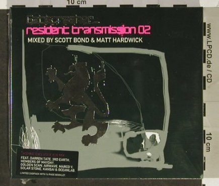 V.A.Gatecrasher: Resident Transmission 02, FS-New, MinistryOS(GATEcd5), UK, Digi, 2003 - 3CD - 92998 - 12,50 Euro