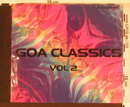V.A.Goa Classics: Vol.2, Various Artists, FS-New, Passion M.(CDB TOT 27), EEC, 2004 - 3CD - 93018 - 10,00 Euro
