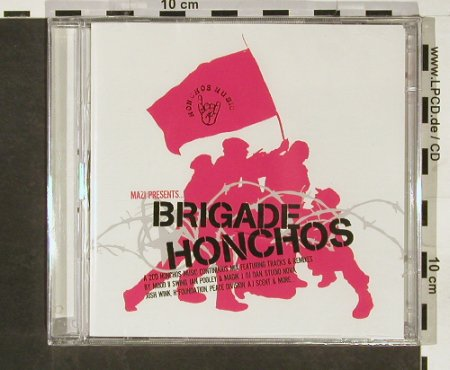V.A.Brigade Honchos: Mazi Presents, FS-New, Honchos Music(HONMcd003), UK, 2003 - 2CD - 93161 - 10,00 Euro
