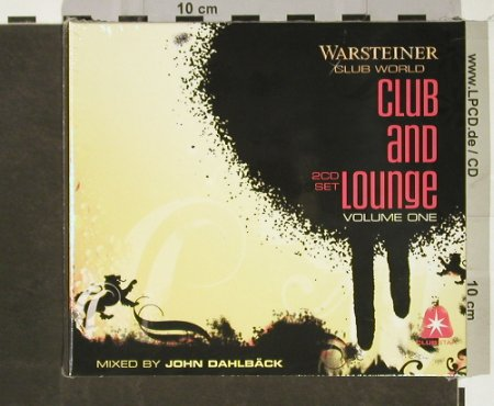 V.A.Warsteiner Club World Vol.1: Club and Lounge, FS-New, Clubstar(), EU, 2005 - 2CD - 93238 - 10,00 Euro