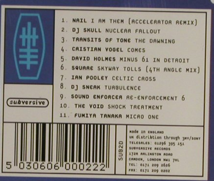 V.A.Modern Electronics: Volume One, 11 Tr., Subversive(), UK,  - CD - 93278 - 7,50 Euro
