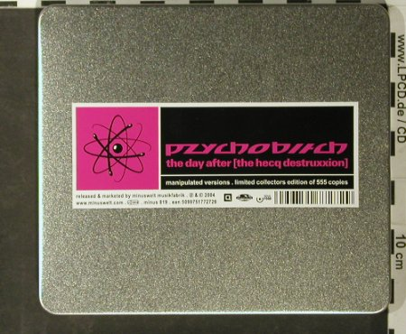 Pzychobitch: The Day After,Lim Ed. metal.box, minus(), , 2004 - CD - 93428 - 10,00 Euro