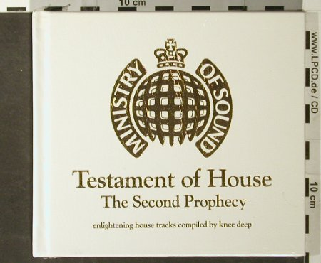 V.A.Testament of House: The Second Prophecy,DigiBook,FS-new, MinistryOS(), UK, 2004 - 2CD - 93445 - 12,50 Euro