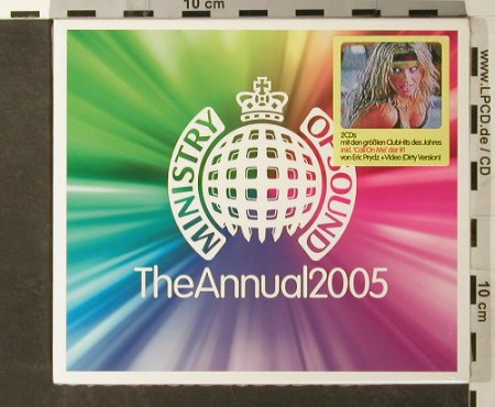 V.A.Ministry Of Sound: The Annual 2005, FS-New, MinistryOS(), D, 2004 - 2CD - 93446 - 12,50 Euro