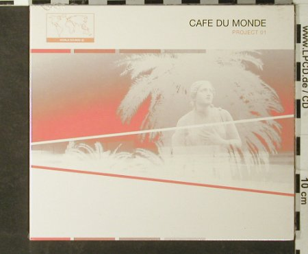 V.A.Cafe du Monde: Project 01, Digi, FS-New, Expanded Soul(EXScd001), UK, 2002 - CD - 93456 - 10,00 Euro
