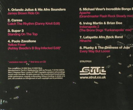 V.A.Strut Sampler: One, Digi, FS-New, Strut(TP031), EU, 2002 - CD - 93460 - 7,50 Euro