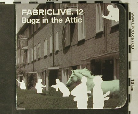 V.A.Fabric 12: Bugz in the Attic, Fabric(Fabric24), EU, 2003 - CD - 93486 - 11,50 Euro