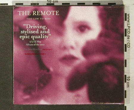 Remote,the: Too Low to Miss,FS-New, Global Underground(), UK, 2006 - CD - 93518 - 10,00 Euro