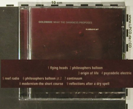 Goldwave: What the Darkness Proposes, FS-New, Kanzleramt(ka 41cd), D, 2004 - CD - 93580 - 10,00 Euro
