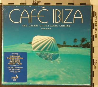 V.A.Cafe Ibiza: The Cream of Balearic Cuisine, Park Lane Rec.(), EU,FS-New, 2006 - 2CD - 93589 - 14,00 Euro