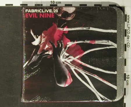 V.A.FabricLive 28: Evil Nine, metal-Box,-FS-New, Fabric(), EU, 2006 - CD - 93590 - 11,50 Euro