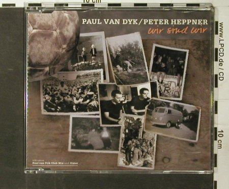 Van Dyke,Paul/Peter Hepner: Wir sind wir *3+video, Universal(), D, 2004 - CD5inch - 93606 - 10,00 Euro