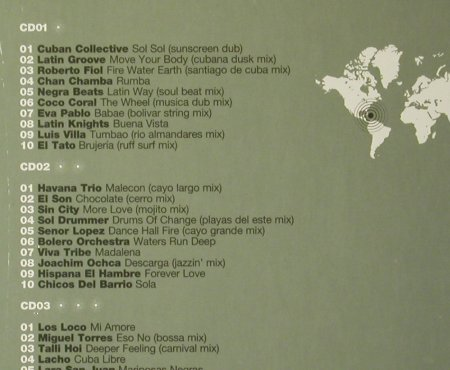 V.A.Destination: Havana,The Hip Guide to..., FS-New, Bar de Lune(), UK, 2006 - 3CD - 93623 - 10,00 Euro