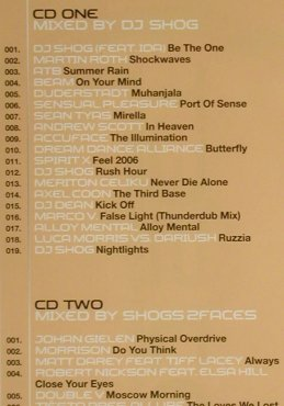 V.A.Technics DJ-Set Vol. 15: DJ Shog/Shogs2Faces, FS-New, Klubbstyle(), EU, 2006 - 2CD - 93631 - 10,00 Euro