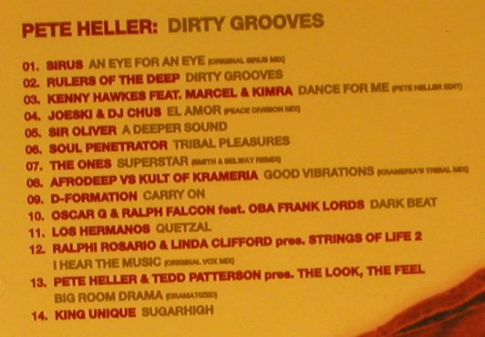 Heller,Pete: Dirty Grooves, FS-New, NRK Sound(NRKMX014), , 2003 - CD - 93659 - 10,00 Euro