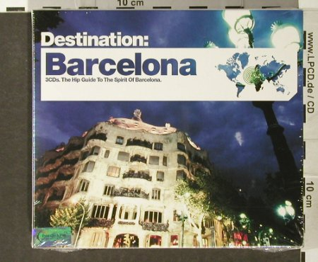 V.A.Destination: Barcelona, FS-New, Bar de Lune(), UK, 2006 - 3CD - 93930 - 10,00 Euro