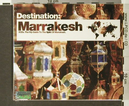 V.A.Destination: Marrakesh, FS-New, Bar de Lune(), UK, 2006 - 3CD - 93931 - 10,00 Euro
