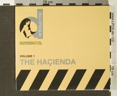 V.A.Discotheque Vol.1: The Hacienda, Digi, FS-New, Gut TV(), UK, 2006 - 2CD - 93968 - 12,50 Euro