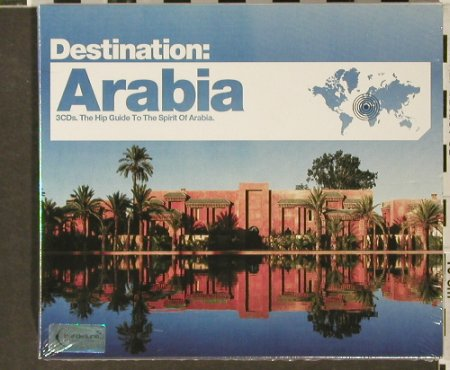 V.A.Destination: Arabia, FS-New, Bar de Lune(), UK, 2006 - 3CD - 93988 - 10,00 Euro