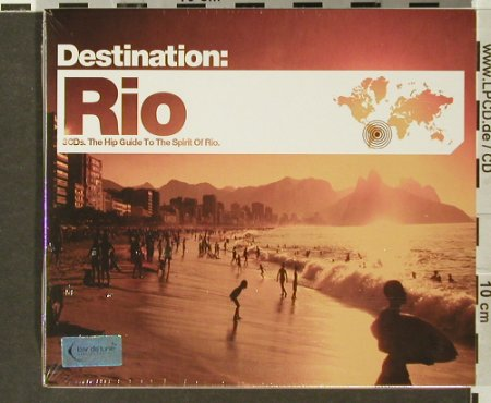 V.A.Destination: Rio, FS-New, Bar de Lune(), UK, 2006 - 3CD - 93993 - 10,00 Euro