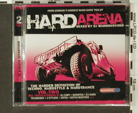 V.A.Hard Arena Vol. 2: Mixed by DJ Warmduscher, FS-New, Klubbstyle(535.3002.2), , 2005 - 2CD - 94013 - 7,50 Euro