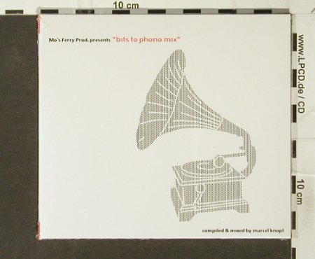 V.A.Bits to Phono  Mix: compil.&mixed by Marcel Knopf, Digi, Mo's Ferry Prod.(mfp020cd), , FS-New, 2006 - CD - 94077 - 11,50 Euro