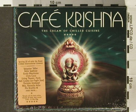 V.A.Cafe Krishna: The Cream of Chilled Cuisine, Park Lane(), EU,FS-New, 2005 - 2CD - 94086 - 12,50 Euro