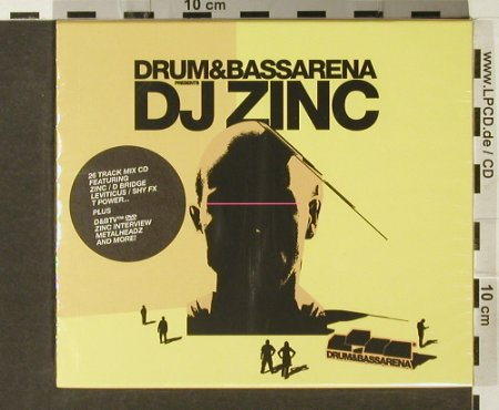 V.A.Drum+Bass Arena: pres. DJ Zinc, FS-New, Resist Music(), , 2005 - CD/DVD - 94091 - 15,00 Euro