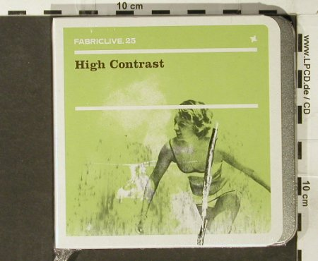 V.A.FabricLive 25: High Contrast, metal box, FS-New, Fabric Rec.(), EU, 2005 - CD - 94093 - 11,50 Euro