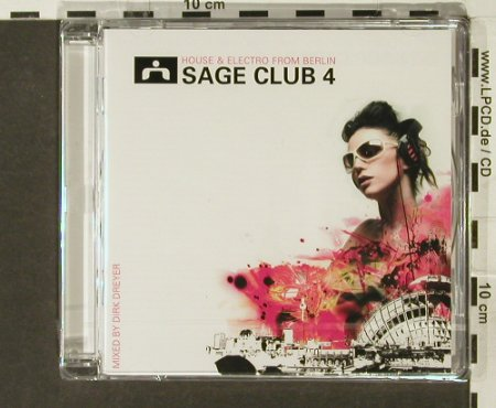 V.A.Sage Club 04: House&Electro fr.Berlin,mx D.Dreyer, Alphabet City(), D,FS-New, 2005 - CD - 94122 - 11,50 Euro