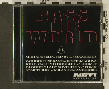 V.A.Bass the World: Mix By DJ Maxximus, FS-New, MG77(), , 2005 - CD - 94219 - 11,50 Euro