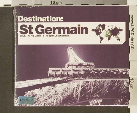 V.A.Destination: St Germain, FS-New, Bar de Lune(), UK, 2006 - 3CD - 94240 - 10,00 Euro