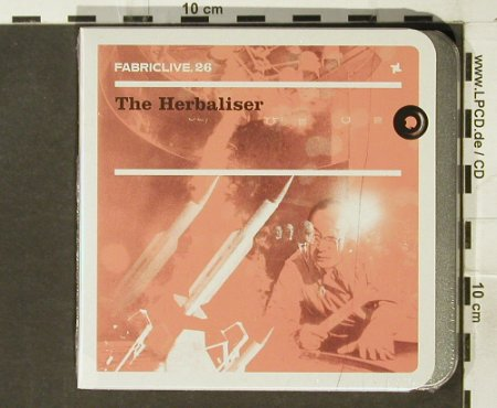 V.A.FabricLive 26: The Herbaliser, metal-Box,-FS-New, Fabric(), EU, 2005 - CD - 94247 - 11,50 Euro