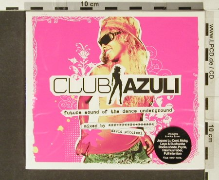 V.A.Club Azuli: Future Sound o.t.dance underground, Azuli(AZcd44), , FS.New, 2006 - 2CD - 94248 - 12,50 Euro