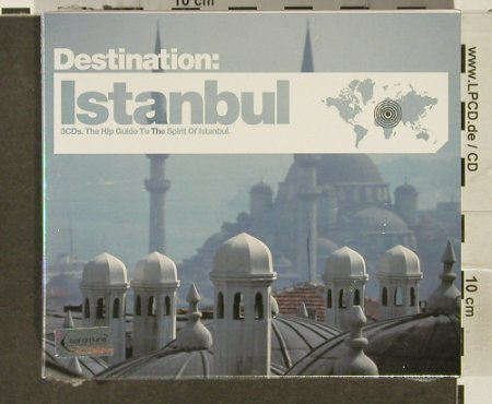V.A.Destination: Istanbul,The Hip Guide to.., FS-New, Bar de Lune(), UK, 2006 - 3CD - 94274 - 10,00 Euro
