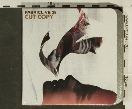 V.A.FabricLive 29: Cut Copy, metal-Box,-FS-New, Fabric(58), EU, 2006 - CD - 94501 - 11,50 Euro