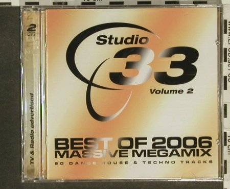 V.A.Studio 33: Best of 2006, Vol. 2, FS-New, Klubbstyle(), EU, 2006 - 2CD - 94522 - 9,00 Euro
