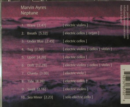 Ayres,Marvin: Neptune, Parade Amoureuse(), D,FS-New, 2001 - CD - 95079 - 10,00 Euro