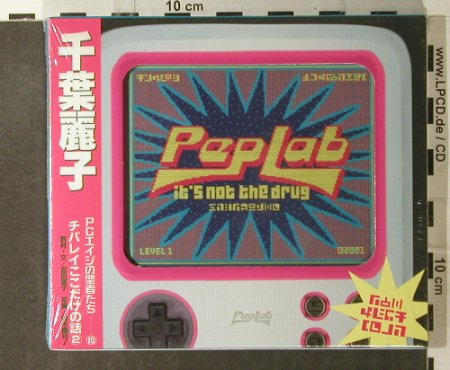 V.A.Peplab-It's Not The Drug: 10 Tr.,, FS-New, Pias(), NL, 2001 - CD - 95161 - 7,50 Euro