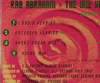 Ras Abraham & Irie Vibes: Smaddy Pickiney*4, Pikosso(), EU, 1996 - Shape - 95211 - 5,00 Euro