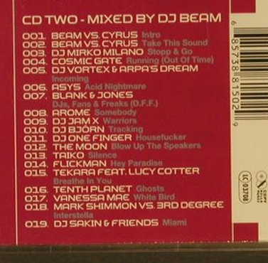 V.A.Technics DJ Set Vol.1: 40 Tr., Warner(), D, 2001 - 2CD - 95273 - 10,00 Euro