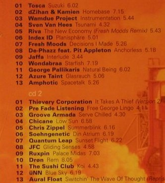V.A.Spacenight Vol.6: Aural Float pres.,40Tr., Warner(), EC, 2001 - 2CD - 95744 - 15,00 Euro