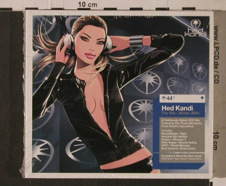 V.A.Hed Kandi-The Mix:Winter 2004: 39 Tr., FS-New, Hed Kandi(HEDK044), EU, 2004 - 3CD - 95822 - 11,50 Euro