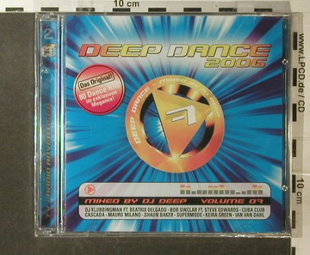 V.A.Deep Dance 2006: 80 Tr., FS-New, Klubbstyle(535.4007.2), EU, 2006 - 2CD - 95961 - 10,00 Euro