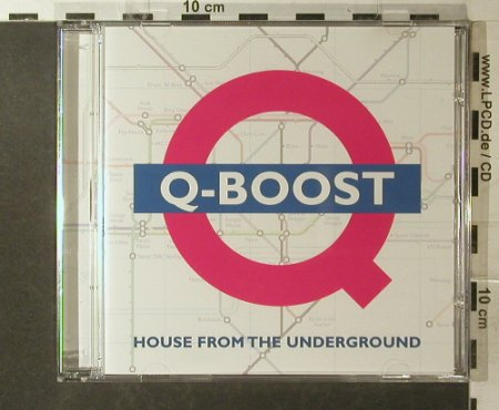 V.A.Q-Boost: 18 Tr., DJ Beat(543366), EU, 2002 - CD - 96198 - 10,00 Euro